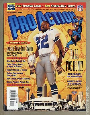 Pro Action Magazine Vol. 2 (1994) #1 VF- 7.5