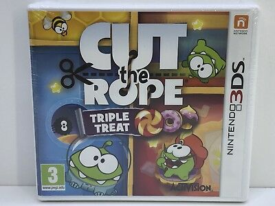 Cut The Rope Trilogy - Triple Treat - (Nintendo 3DS, 2014, Keep Case) - .4
