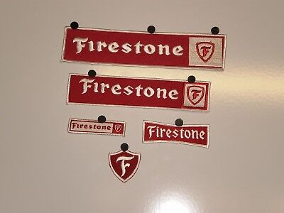5 Firestone Tire  Patches NOS