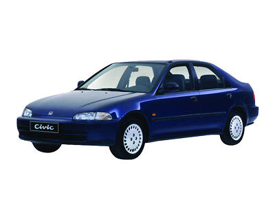 Manuale Officina Honda Civic My 1992 - 1995 Workshop Manual Service Email