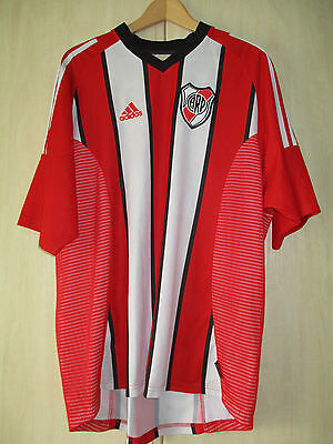 mens CARP RIVER PLATE FOOTBALL CLUB ADIDAS SHIRT SIZE XL