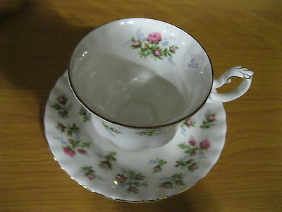 Royal Albert Winsome Bone China Cup & Saucer Almost Perfect Condition!