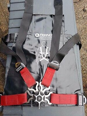 Ferno 4 Point Patient Harness Ambulance Paramedic Emergency Stretcher Technician
