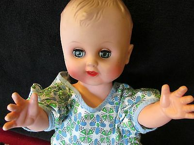 "Vintage Gerber Baby 12"" doll with Rolling Eyes"