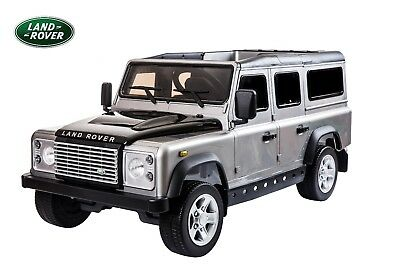 Land Rover® Defender Electric Ride On Toy Car - Silver (OFFICIALLY LICENSED)