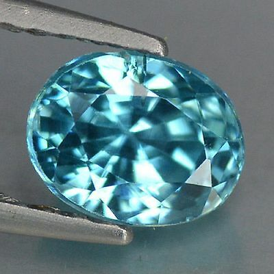 1.37 Cts Top Deep Quality Blue Color Natural Best Blue Zircon