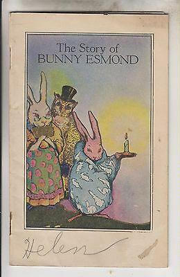 1924 Booklet - The Story Of Bunny Esmond - Esmond Mills Esmond Rhode Island