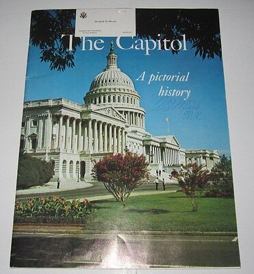 1973 The Capitol Magazine Signed By Wilbur Mills Member Of Congress Arkansas