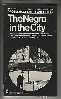2 1968-70 Pb Books - The Negro In The City & The Draft - Gerald Leinwand