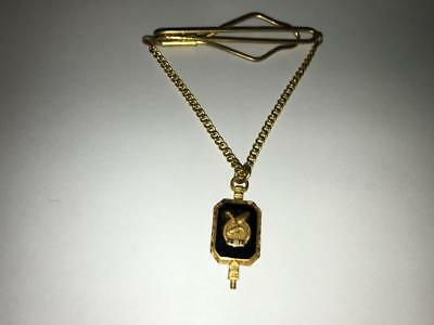 FOE - Fraternal Order of Eagles Tie Chain with pendant.  Gold Tone