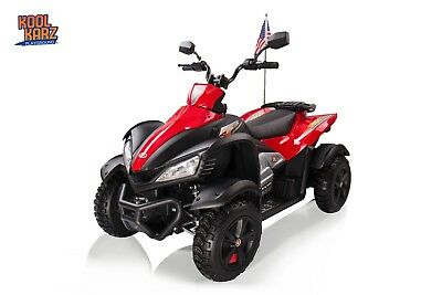 Kool Karz Ride On ATV Electric Ride On Toy Car - Red