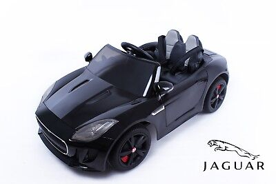 Jaguar® F-TYPE Electric Ride On Toy Car - Black (OFFICIALLY LICENSED)