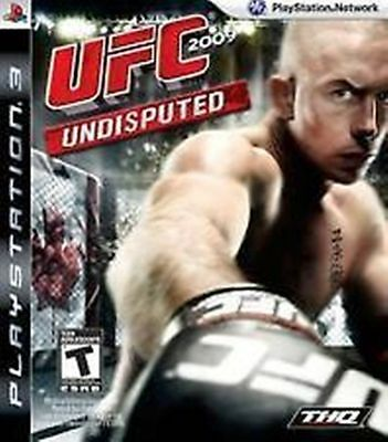 REPLACEMENT CASE ONLY (NO GAME) PS3 UFC Undisputed 2009 ---GEORGE ST PIERRE