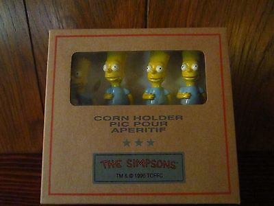 Simpsons Bart Corn Forks By Tropical Diffusion 1996  Rare