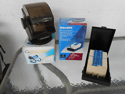 Rolodex LOT of 4 : 2 New in Box plus 2 others NICE