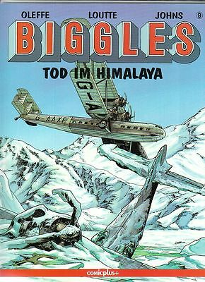 Biggles Nr. 9 SC von Oleffe / Loutte / Johns in Topzustand !!!