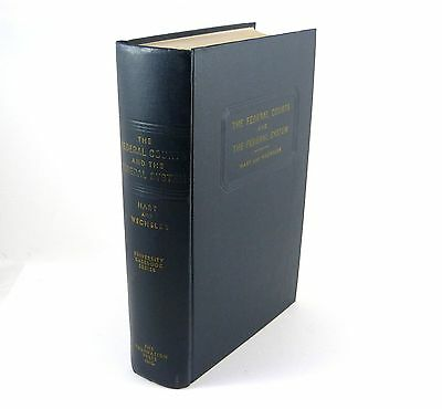 Law Book THE FEDERAL COURTS AND THE FEDERAL SYSTEM Hart/Wechsler ©1953 1st Ed.