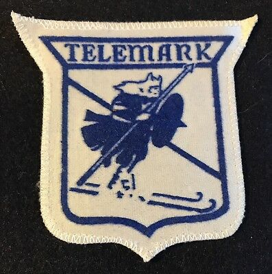 TELEMARK Lost Ski Area 1947-2013 Skiing Patch Wisconsin WI Souvenir Travel