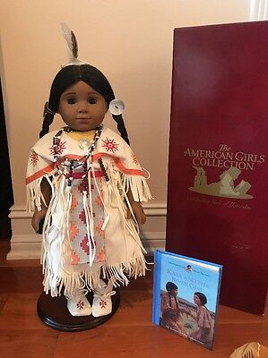 American Girl Doll Kaya With Accessories And Rare Dress