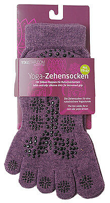 Yoga Zehensocken Elderberry Lila von Yogistar