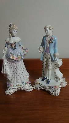 COALPORT 'ARCADIAN COLLECTION'FIGURINES Limited Edition of Number 211 of 250 '