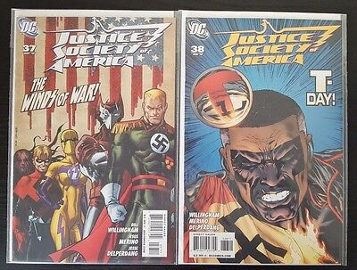 Justice Society of America #37 & 38 (May & June 2010, DC) VF/NM