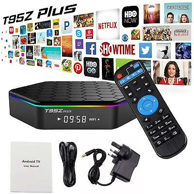Dual WIFI Plus 2GB+16GB Smart Android 6.0 TV Box T95Z 17 Octa Core 2.4/5Ghz UK