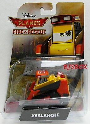 Disney Planes Fire & Rescue Avalanche Skid Steer Loader Plow Rare New Toy