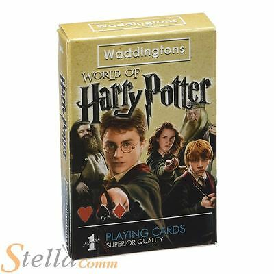 Waddingtons Number 1 Harry Potter Playing Cards