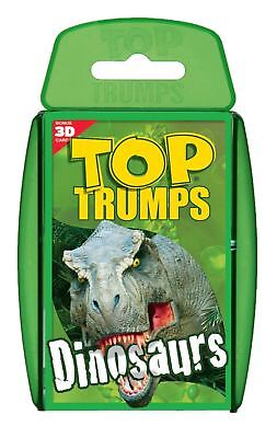 Official Dinosaur Top Trumps Classic Pack Card Game Christmas Toy Dino