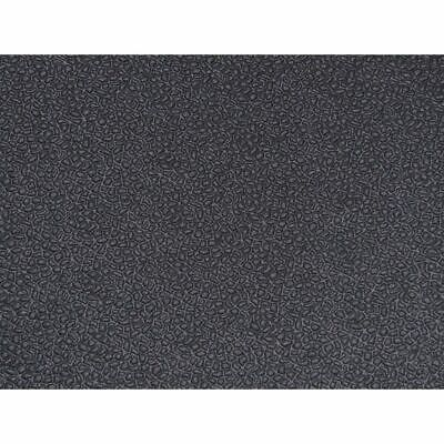 Quality, super durable compressed solid rubber floor mat material black/brown
