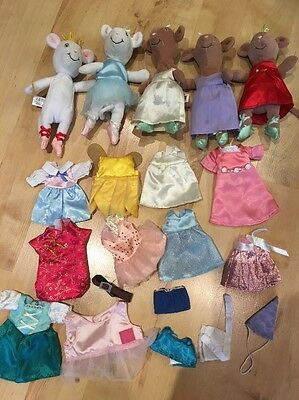 Angelina Bellerina Bundle Of Soft Push Toys And Clothes (4)