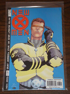X-Men #118 Vol2 Marvel Comics Stepford Cuckoos  November 2001
