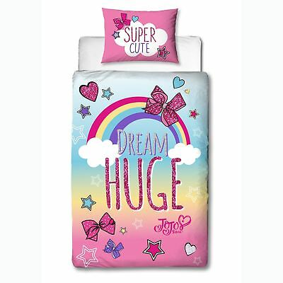 Jojo Siwa Bows Single Duvet Cover And Pillowcase Set