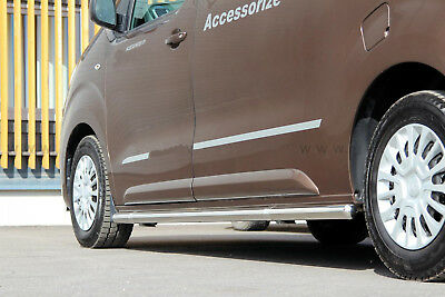 Toyota Proace 2016- L1 Protection, Barre Laterale Inox, Diam 60Mm, Homologue