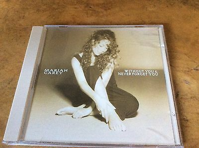 Mariah Carey - Without You / Never Forget you - USA 1994 2trk CD Single.
