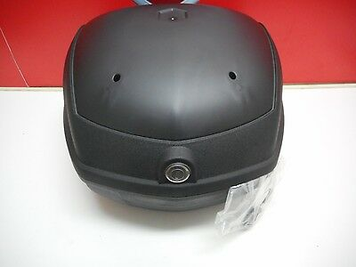 Piaggio Carnaby Top Box Black Back Bauletto Nero 605125M002