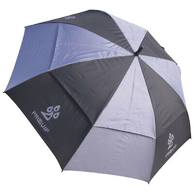 "ProQuip Pro-Flex Double Canopy Umbrella New Rain Brolly Golf Auto Open 62"" Inch"