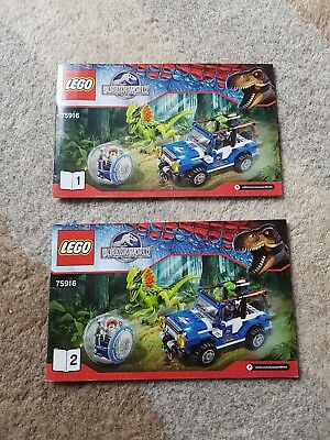 LEGO Instructions only for set - 75916  Jurassic World