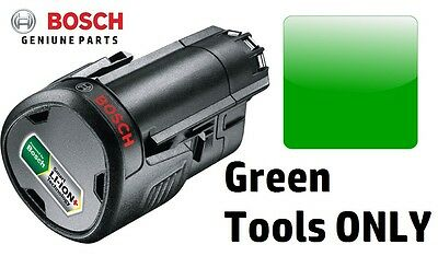 GENUINE BOSCH-10.8V 2.0a BATTERY LithiumION-Rechargable1600A0049P 3165140808804V