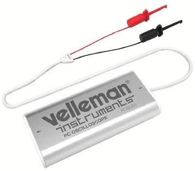 USB PC Oscilloscope and Spectrum Analyser - VELLEMAN INSTRUMENTS