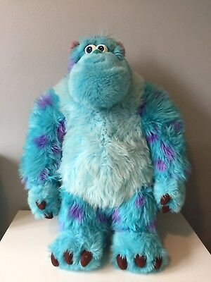 Official Disney Store Authentic Stamp Monsters Inc Sully 60cm Soft Plush Sulley