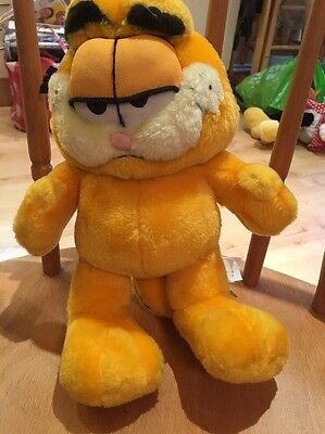 """Garfield 11"""" Plush Soft Toy By Play By Play"""
