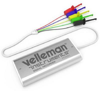 4 Channel Mini Signal Recorder USB Data Logger - VELLEMAN INSTRUMENTS
