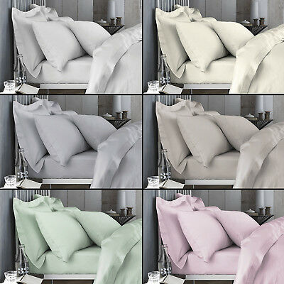 Bianca 100% Cotton Soft 200 TC Extra Deep Fitted Sheets Six Colours