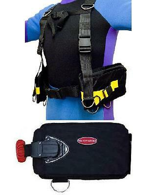 Red Hat Diving. Premium weight harness. New. Universal size.