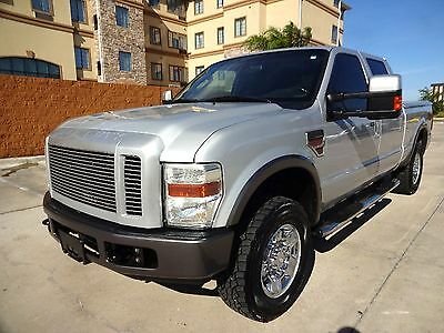 2008 Ford F-250 FX4 2008 Ford Superduty F-250 FX4 Crew Cab 4x4 6.4L Powerstroke Turbo Diesel Engine