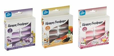 20pk Vacuum Fresheners Hoover Dust Bags Filters Cleaner Air Freshner Cylinder