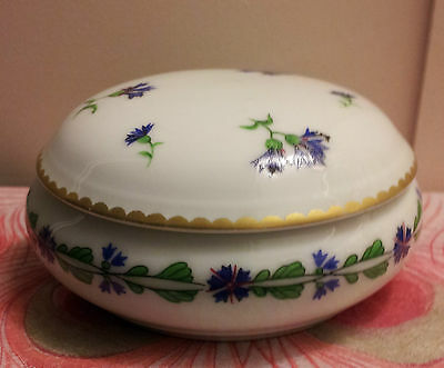 Beautiful Limoges Villandry Covered Trinket Box For Tiffany & Co.!!!