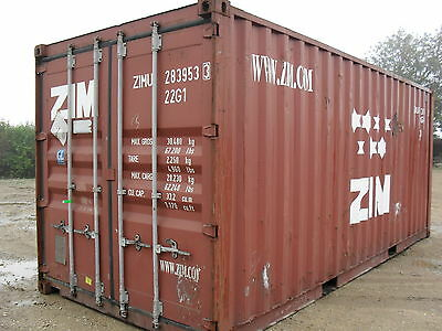 20ft Used Shipping Container, £1250.00+vat
